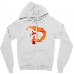 Fox Zipper Hoodie | Artistshot