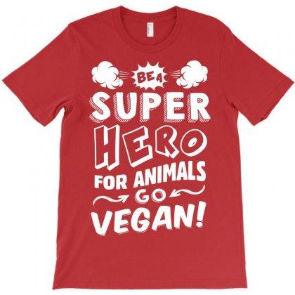 Go Vegan T-shirt Designed By Tshiart