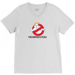 Trumpbusters V-Neck Tee | Artistshot
