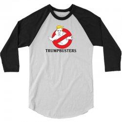 Trumpbusters 3/4 Sleeve Shirt | Artistshot
