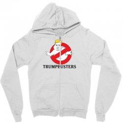 Trumpbusters Zipper Hoodie | Artistshot