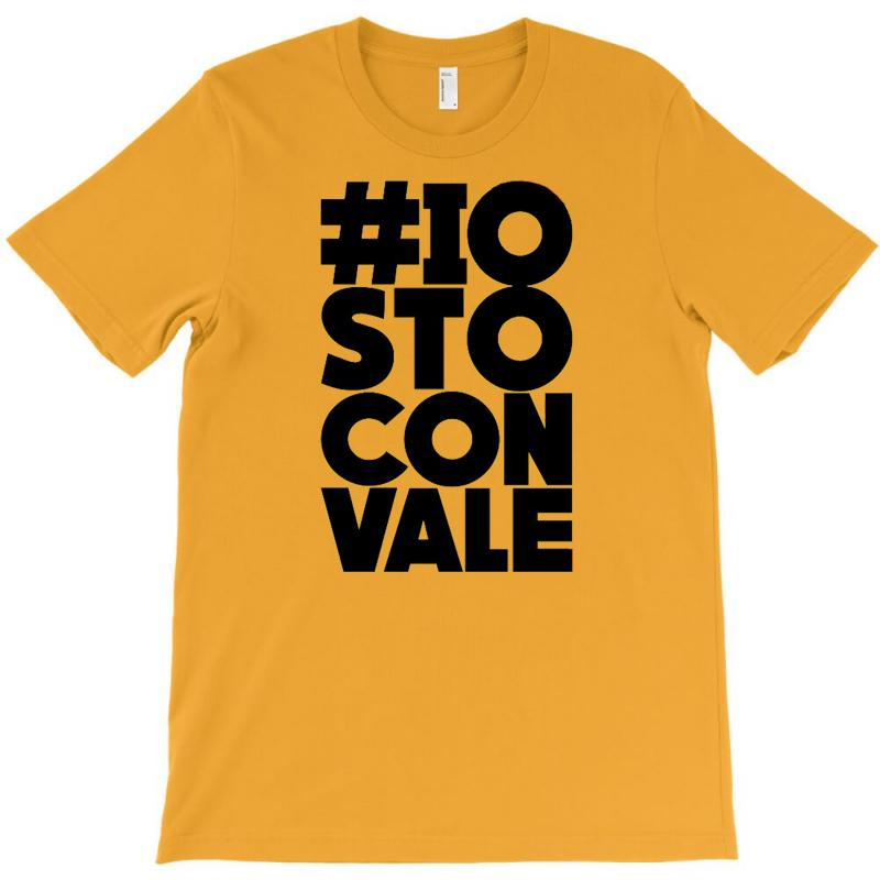 Custom Valentino Rossi Io Sto Con Vale T Shirt By Dede76 Artistshot