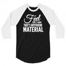 funny tshirts   i love it when my boyfriend 3/4 Sleeve Shirt | Artistshot