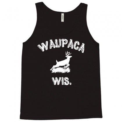 Waupaca Wisconsin - Dustin's Shirt In Stranger Things! Tank Top Designed By Eugene