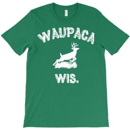 Waupaca Wisconsin - Dustin's Shirt In Stranger Things! T-shirt Designed By Eugene