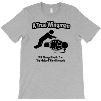 A True Wingman T-shirt Designed By Gematees