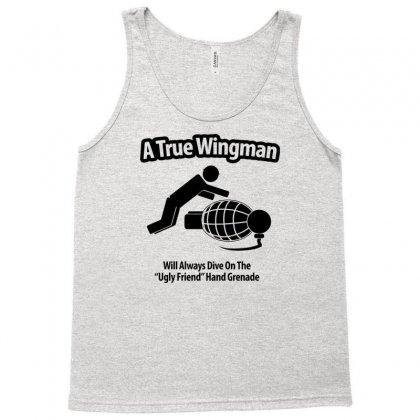 A True Wingman Tank Top Designed By Gematees