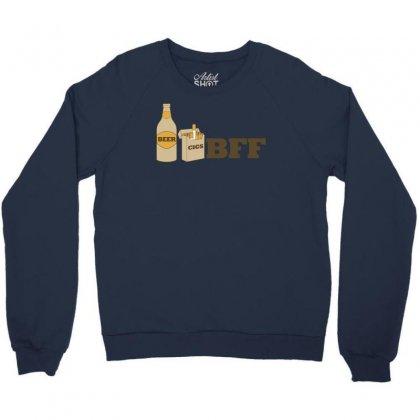 Beer And Cigs Best Friends Crewneck Sweatshirt Designed By Gematees