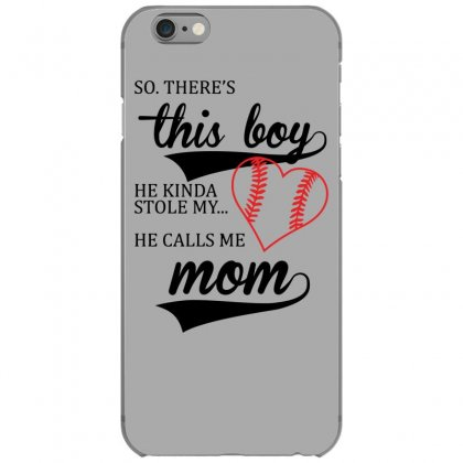 He Calls Me Mom Cute Iphone 6/6s Case Designed By Gematees