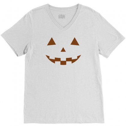 Halloween V-neck Tee Designed By Designbysebastian