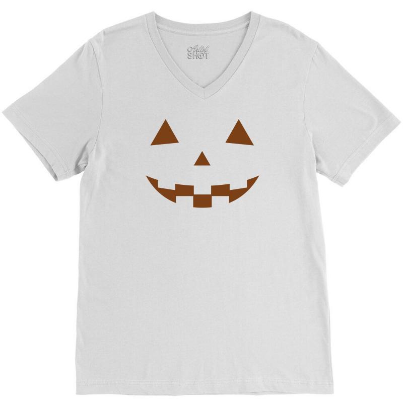 Halloween V-neck Tee   Artistshot