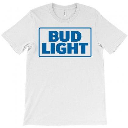 Bud Light Blue Font T-shirt Designed By Harmonydue