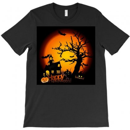 Happy Halloween T-shirt Designed By Achmad
