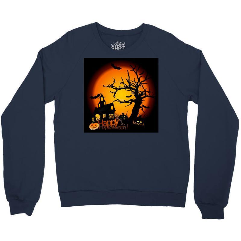Happy Halloween Crewneck Sweatshirt | Artistshot