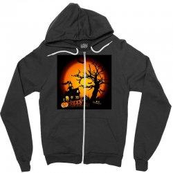 Happy Halloween Zipper Hoodie | Artistshot