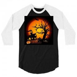 Happy Halloween 3/4 Sleeve Shirt | Artistshot