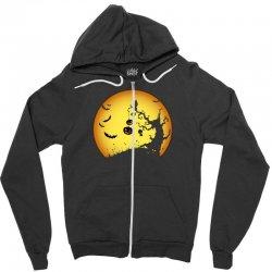Night Halloween Zipper Hoodie | Artistshot