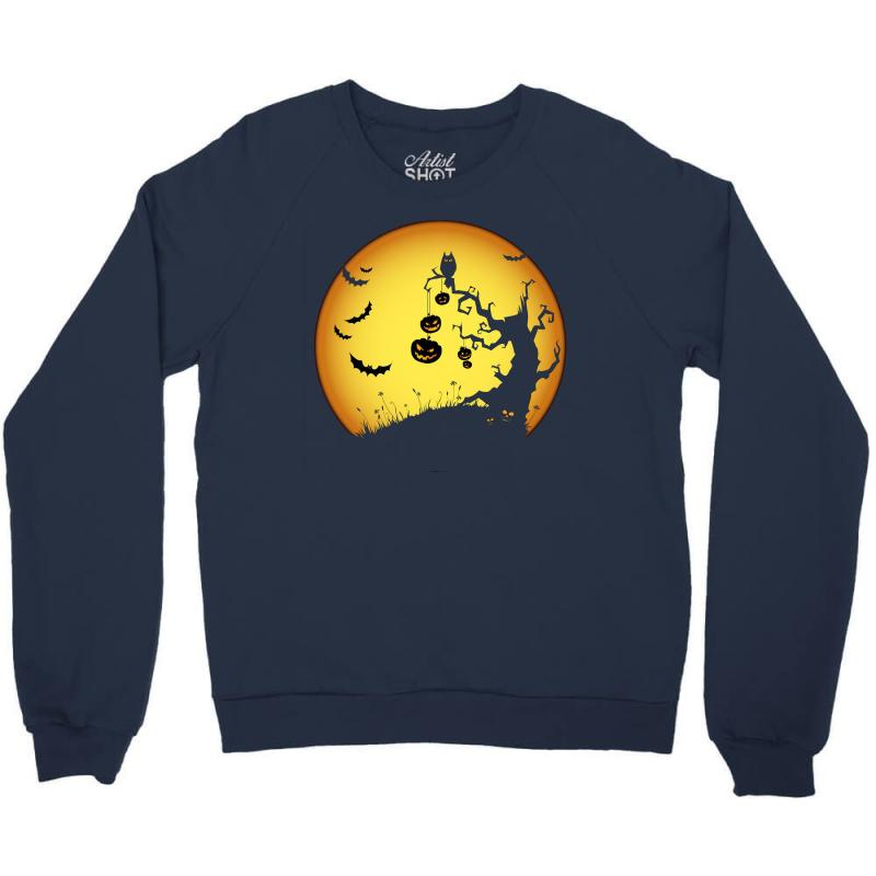 Night Halloween Crewneck Sweatshirt | Artistshot