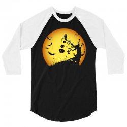 Night Halloween 3/4 Sleeve Shirt | Artistshot