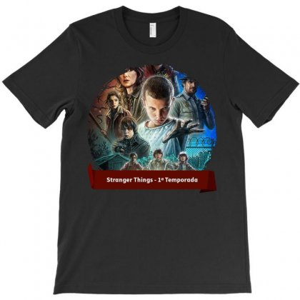 Stranger Things1 T-shirt Designed By Achmad