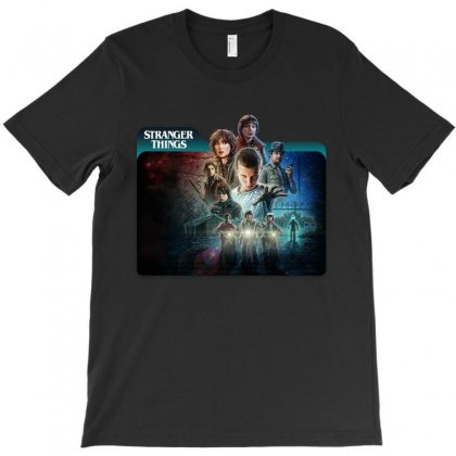 Stranger Things 01 T-shirt Designed By Achmad