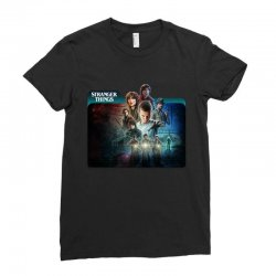 stranger things 01 Ladies Fitted T-Shirt | Artistshot