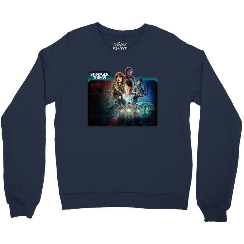 Stranger Things 01 Crewneck Sweatshirt | Artistshot
