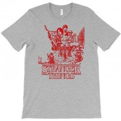stranger things red T-Shirt | Artistshot
