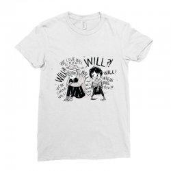 stranger thingss Ladies Fitted T-Shirt | Artistshot