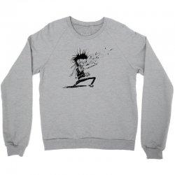 Zombie Music Crewneck Sweatshirt   Artistshot