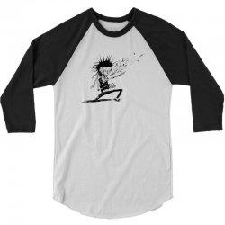 Zombie Music 3/4 Sleeve Shirt   Artistshot