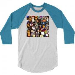 Monkey 3/4 Sleeve Shirt | Artistshot