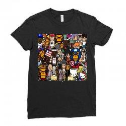 Monkey Ladies Fitted T-Shirt | Artistshot