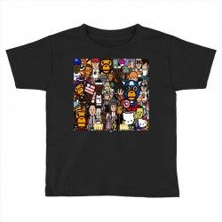 Monkey Toddler T-shirt | Artistshot