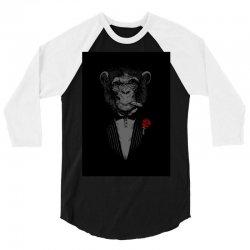 Monkey Busniseman 3/4 Sleeve Shirt | Artistshot