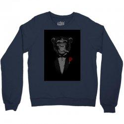 Monkey Busniseman Crewneck Sweatshirt | Artistshot