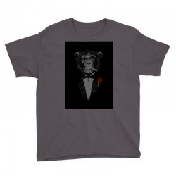 Monkey Busniseman Youth Tee | Artistshot