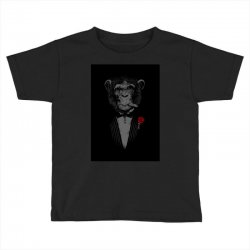 Monkey Busniseman Toddler T-shirt | Artistshot