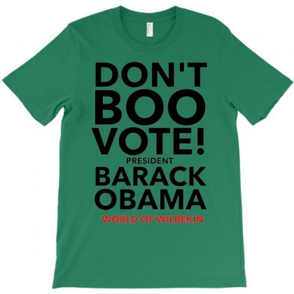 Don't Boo Vote T-shirt Designed By Achmad