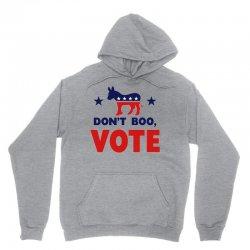 Don't Boo Vote 02 Unisex Hoodie | Artistshot