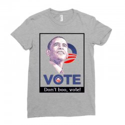 Vote Obama Ladies Fitted T-Shirt | Artistshot
