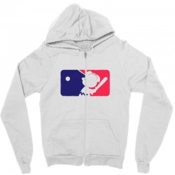 Peanuts League Baseball Zipper Hoodie | Artistshot