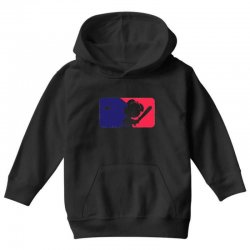 Peanuts League Baseball Youth Hoodie | Artistshot