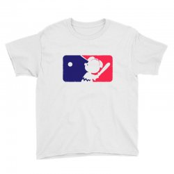 Peanuts League Baseball Youth Tee | Artistshot