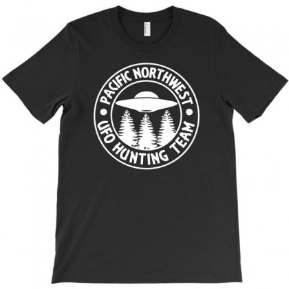 Pacific Northwest Ufo Hunting Team T-shirt Designed By Tonyhaddearts