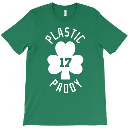 Plastic Paddy T-shirt Designed By Gematees
