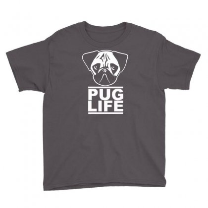 Pug Life Youth Tee Designed By Gematees