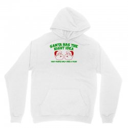 santa has the right idea Unisex Hoodie | Artistshot