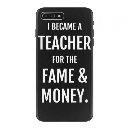 Fame & Money Iphone 7 Plus Case Designed By Tonyhaddearts