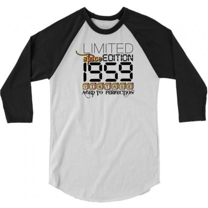 Limited Edition 1959 3/4 Sleeve Shirt Designed By Designbycommodus